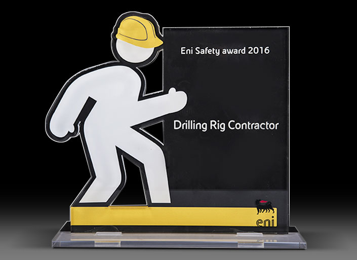winner of ENI Safety Award 2016