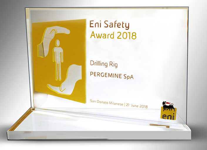winner of ENI Safety Award 2014
